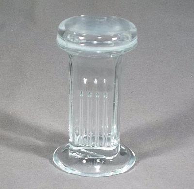 Wheaton Glass Coplin Jar With Ground Glass Cover