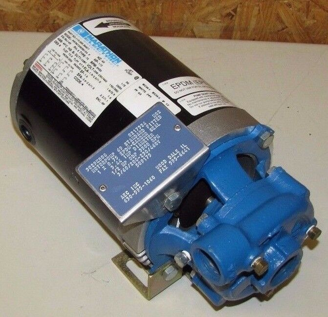 "SCOT 69 1"" NPT X 3/4"" NPT 1/2 HP 208-230/460V 3PH 3.44"" IMP CENTRIFUGAL PUMP NEW"