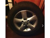 4xtyres 205/65r15,fitted with alloys (0ff a quasqui) only used for a week bargain at £150 ono