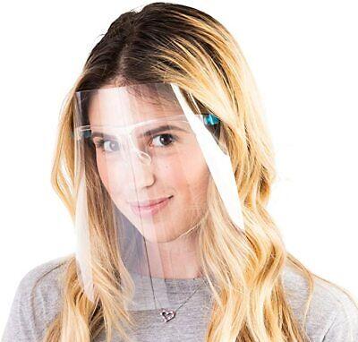 5-1000 Pcs Safety Face Shield Reusable Goggle Shield Wearing Glasses Face Visor