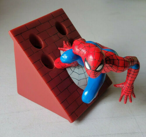 Marvel Spiderman Vinyl Tooth Brush Holder New