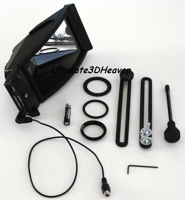 Nu View Stereoscopic 3-D Camcorder Adapter Model: SX2000 S/N: 0003671, NEW