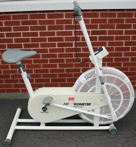 DP Air GoMeter Schwinn Airdyne Style Exercise Bike