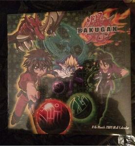 Bakugan calendar