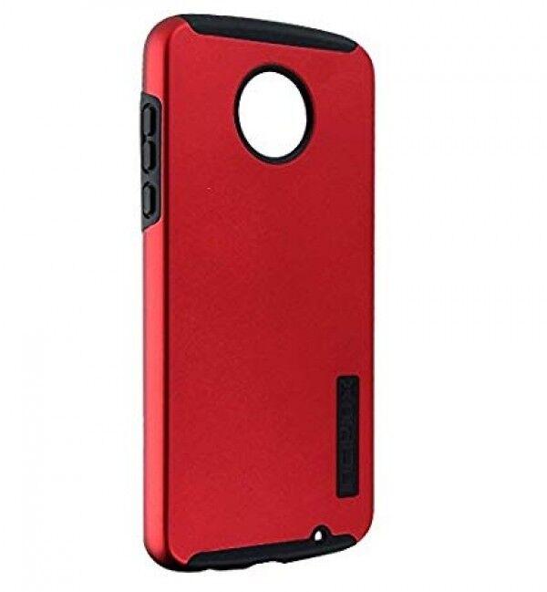 Incipio Motorola Moto Z2 Play ~ DualPro Iridescent Red/Black