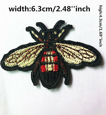 DIY Sewing Embroidery insect On Patch Stickers Badge Embroidered Fabric Applique - Insect Crafts