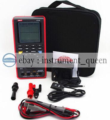 Uni-t Ut81b Lcd Handheld Digital Multimeter Wusb Lcd Meter Tester Oscilloscope