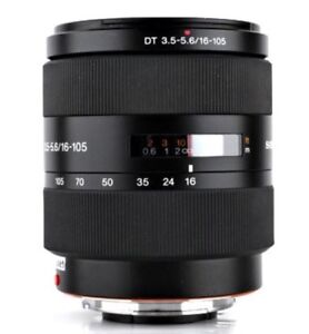 Sony DT 16-105mm lens $495