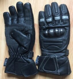 Motorcycle gloves size 8
