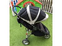 Baby jogger City Mini single pushchair buggy black