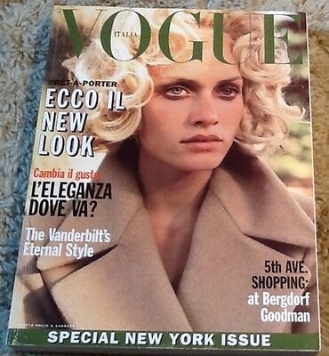 Vogue Italia September 1995 Amber Valletta Very Good