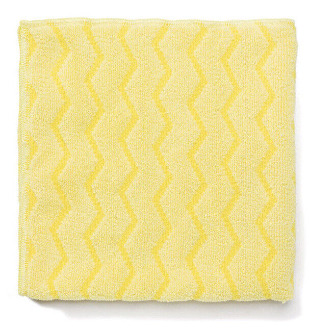 Rubbermaid commercial HYGEN 16x16 microfiber cloth Towel yellow (12 pack)