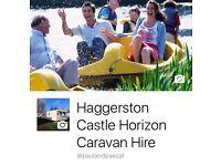 Haggerston Castle Caravan To Let