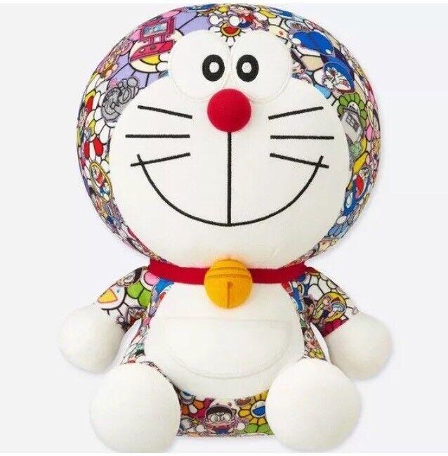 Doraemon Takashi Murakami UNIQLO Plush Doll Brand New