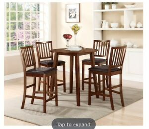 Counter height dining table, perfect for condo!