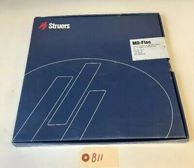 Struers Md-floc 300mm Dia 40500405 5 Pcs Fast Shipping