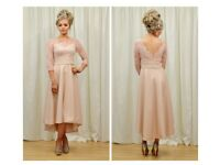 Pink mother of the bride dress size 8