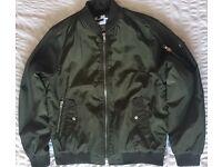 Topman men's bomber jacket - Large