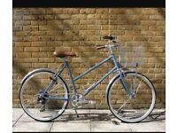 Blue tokoyo hybrid bike
