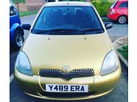 Yaris 12month tax lady owner 6Month mot good runner
