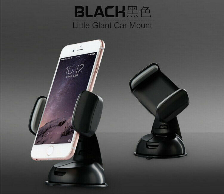 Auto accessories Black Car Mount Holder Phone Windshield For