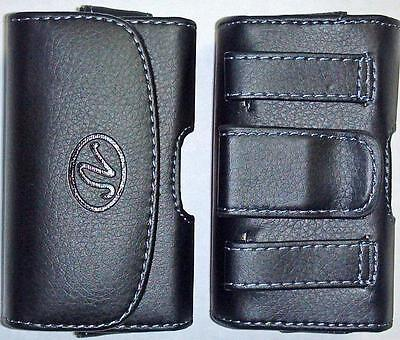 Extra Small Slim Cell Phone Universal Case/ Pouch/ Holster With Belt Loop & Clip