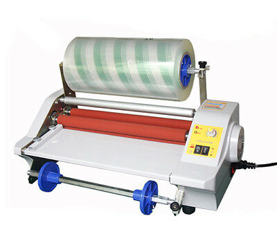 110v Four Rollers Hot Roll Laminating Machine Fm360j Photo Film Laminator