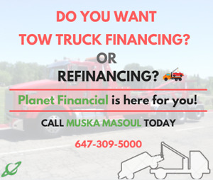 We'll Finance your TOW TRUCK - Planet Financial
