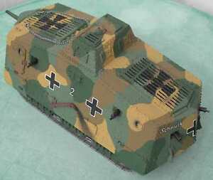 Modelik-21-08-PANZER-A7V-1916-1-25-con-piezas-cortadas-a-laser