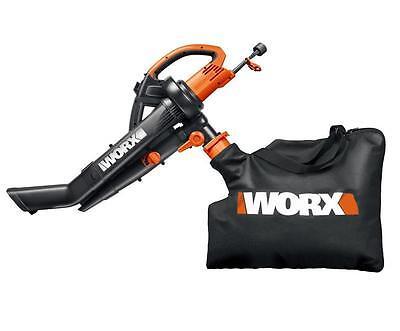 WG500.2 TriVac 3-in-1 Leaf Blower/Mulcher/Vacuum by Worx