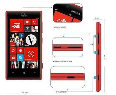 Купить Original Unlocked Nokia Lumia 720 N720 4.3