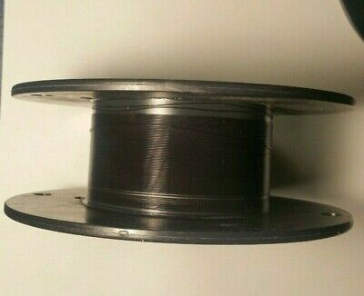 30 Awg Thin Walltype Et Mil-spec Wire Black Ptfe Stranded Silver Plated 25ft