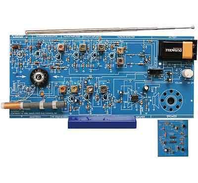 Elenco AM/FM-108CK AM/FM IC and Transistor Superhet Radio Kit NEW!!!