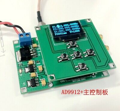 2020 Ad9912 1gsps 1hz-400mhz Sine Wave Output Dds Singal Source Sweep