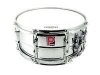 Premier Steel Snare Drum