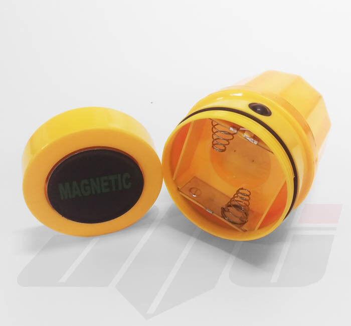 Rotating Led Strobe Beacon Battery Powered Magnetic