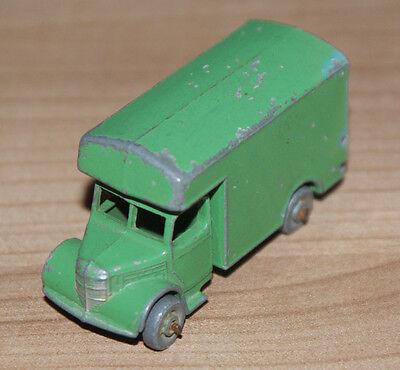 MATCHBOX - Lesney - bedford removal van 17a green- #118