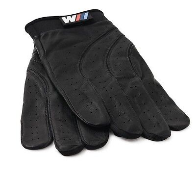 Medium Leather Glove - BMW M Motorsport Driving Gloves Men's Medium OEM Cabretta Leather 80160435735