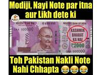 New Indian Rupees Note