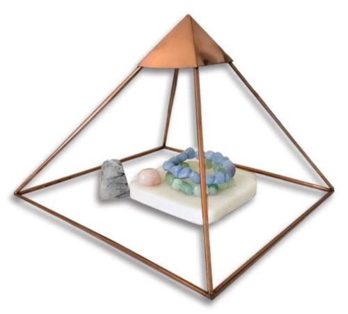 "9"" Giza Copper Pyramid, Healing, reiki , crystal charging FAST SHIPPING"