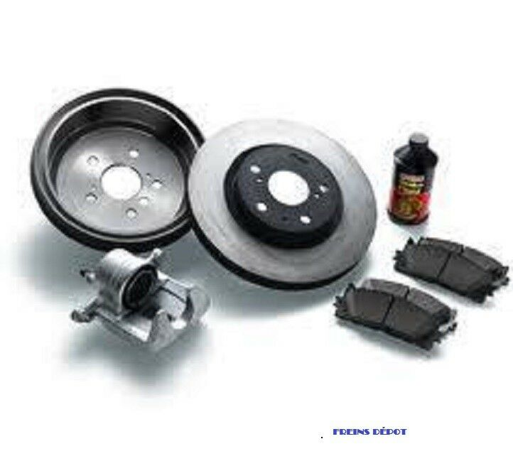 BRAKE FRONT REAR FREINS AVANT ARRIERE PAD ROTOR DISC