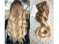 REMY Deluxe thick ombré hair extensions