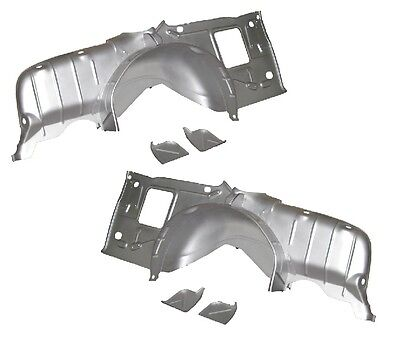 55-57 Chevy Complete Tubbed Wheelhouse With Inner Quarter Panels Lh Rh Pair