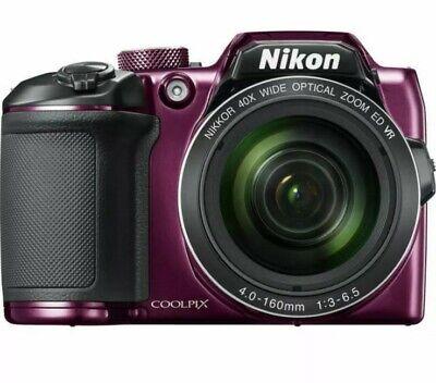 Nikon COOLPIX B500 16.0MP Digital Camera - Plum EXCELLENT