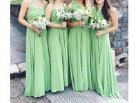 x4 Multiway Dessy bridesmaids dresses