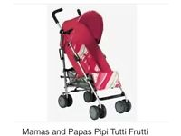 Mamas & Papas Pipi buggy/stroller. Brand new (box unopened)