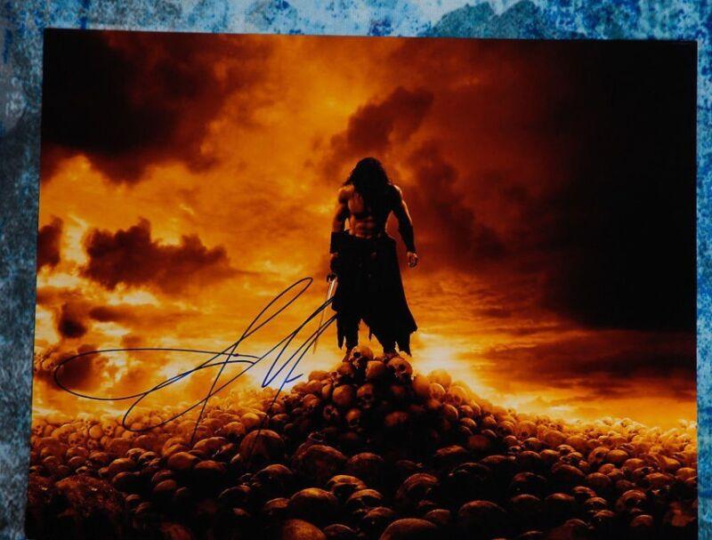**GFA Conan the Barbarian *JASON MOMOA* Signed 11x14 Photo MH1 COA**