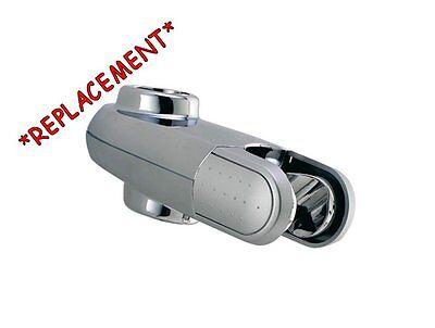 Aqualisa Shower Head Holder REPLACEMENT Clamp Bracket for 25mm Slide Rail Bar