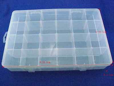 1pclotelectronic Components Storage Box 24 Latticeblocks 33.5 X 22.5x5.5cm