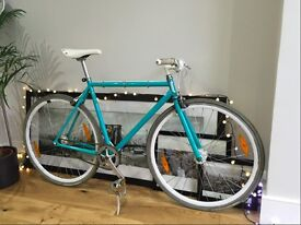 SINGLE SPEED SPECIALIZED GLOBE ROLL 1 BIKE (TEAL/MEDIUM) FOR SALE - GOOD CONDITION & WORKING ORDER